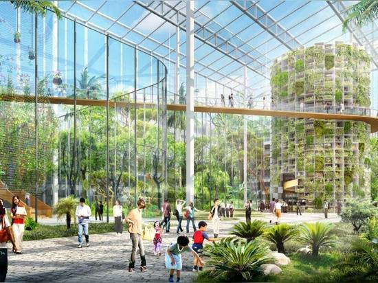 Shanghai sta progettando un'azienda agricola verticale massiccia da 100 ettari per alimentare 24 milione di persone