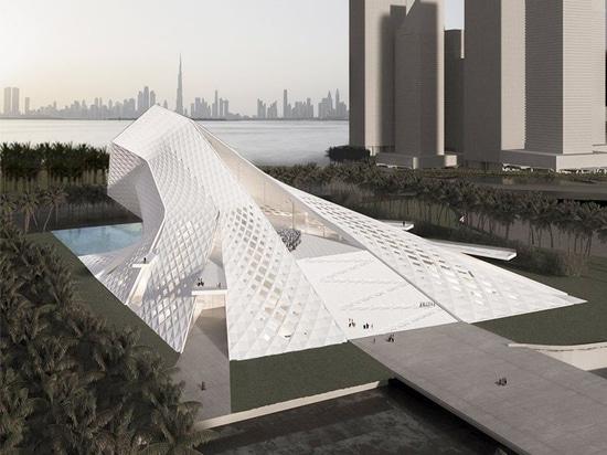 QASTIC attinge la natura spirituale di luce per la proposta della moschea del porto di Dubai Creek