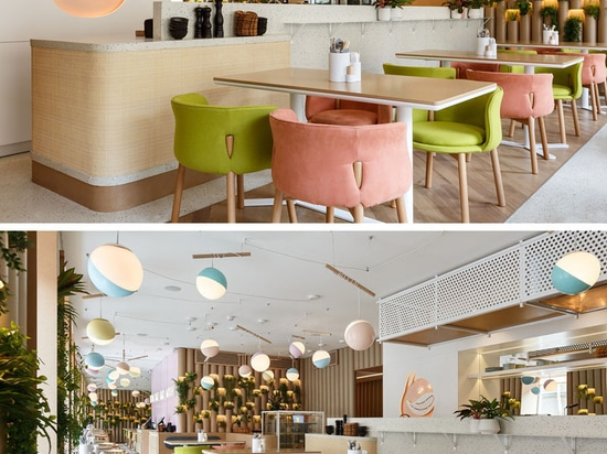 Il ristorante di BAO MOCHI recentemente si è aperto in Russia