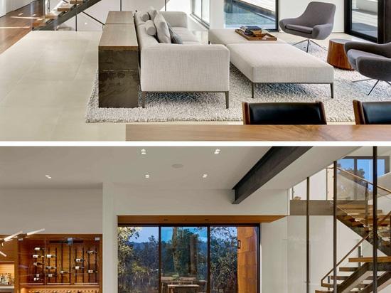La Camera di RidgeView da Zack   de Vito Architecture + costruzione