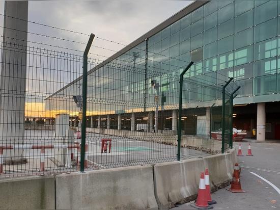 Recinti il T1 dell'aeroporto di Barcellona