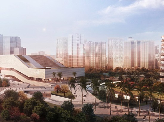 il GMP architekten e il sobejano di nieto scelto per il complesso del museo di guangzhou in porcellana