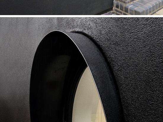 La gomma nera riguarda l'estensione su questa Camera a Londra