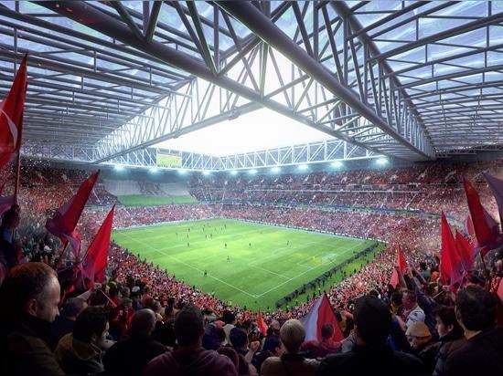 OMA rivela i piani per più grande stadio di football americano nei Paesi Bassi