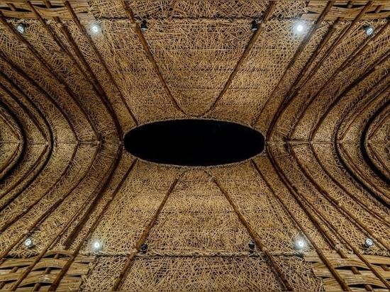 """Lo studio di ZUO costruisce """"il padiglione di bambù"""" per esprimere la bellezza naturale di Taiwan"""