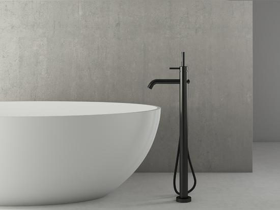 NERONE dal ® di Vallone: La nuova raccolta del rubinetto rappresenta l'eleganza sottile vestita nel nero