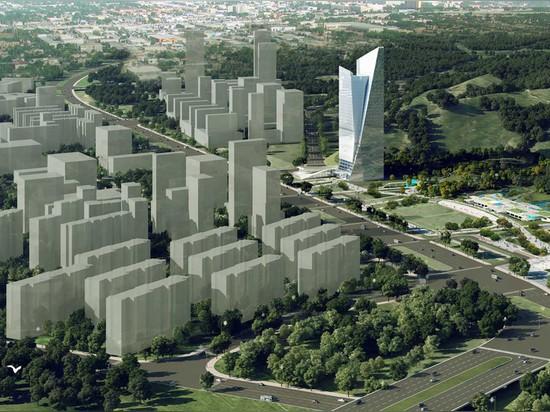 la proposta è stata inserita in una concorrenza dal ramo di shenzhen di RMJM