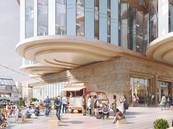 lo studio del heatherwick e SPPARC ottengono la luce verde per revisione di Londra di Olympia £1 miliardo