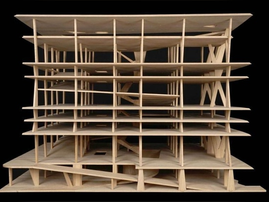 Raccolta dei regali di Herzog & de Meuron degli schizzi e dei modelli architettonici a MoMA