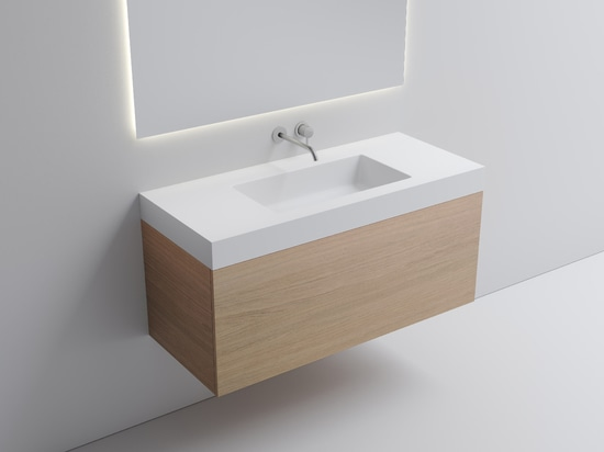 MURALE da VALLONE®: Diverse e soluzioni su misura del lavabo