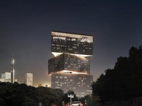 OMA/l'hotel di RAI Nhow Amsterdam di Reinier de graaf inaugura