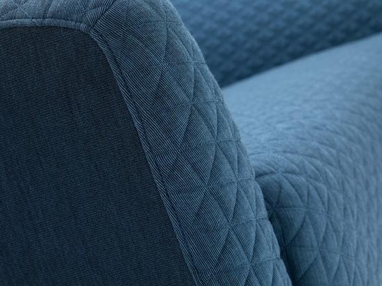 I tessuti imbottiti riguardano le disposizioni dei posti a sedere moderne