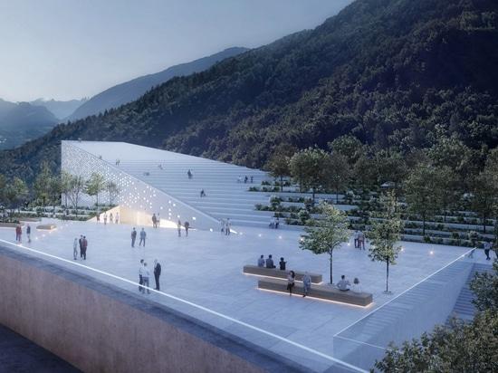 Snøhetta progetta il museo italiano della vetta per Ötzi l'uomo Ghiaccio