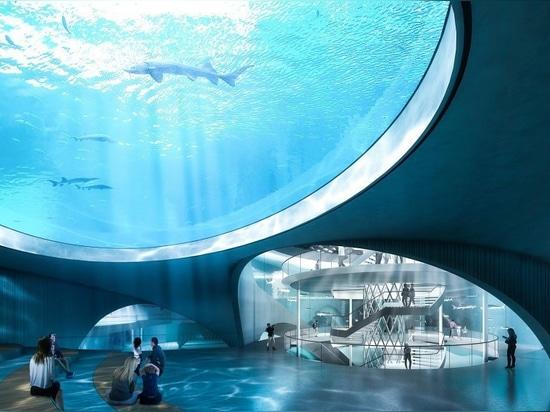 Ennead progetta la nuova riserva naturale e l'acquario pubblico in Cina