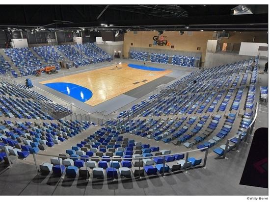 Posti a sedere istituzionali dell'arena di Glaz