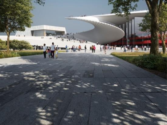 Snøhetta ha commissionato la progettazione del Grand Opera House di Shanghai