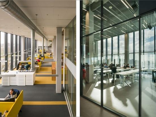 Premio Atlas by Team V Architecture Award per l'architettura, vincitore di un edificio universitario intelligente e sostenibile