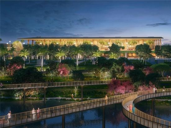 """Il progetto di SOM per il nuovo """"Garden Terminal"""" presso l'aeroporto internazionale Kempegowda di Bengaluru"""