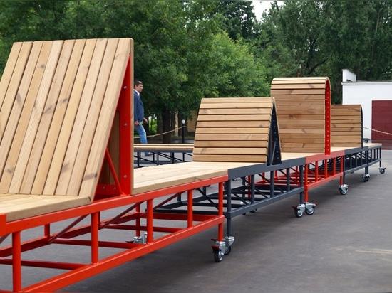 Il parco dell'artigianato a VDNKh, Mosca