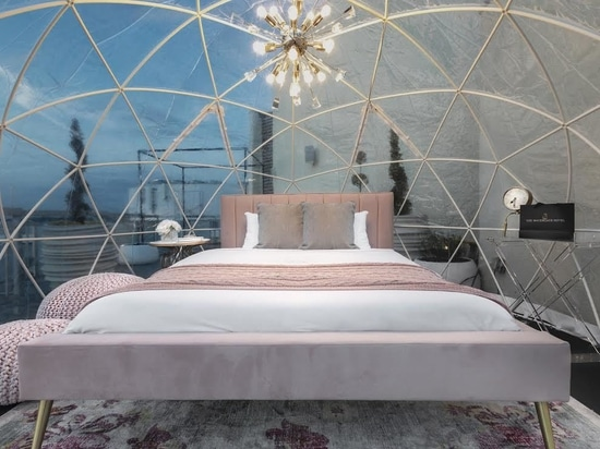 Ora è possibile Glamp in una cupola sul tetto del Watergate Hotel