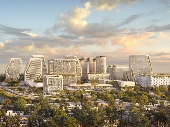 I masterplan di UNStudio per la smart city a Bangalore