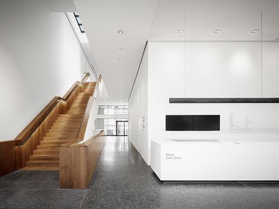 il rinnovamento del museo d'arte di gmp architekten apre in un nuovo sviluppo ad Amburgo