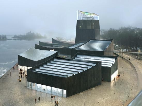 Moreau Kusunoki Architectes era appena vincitore incoronato nel museo di Guggenheim Helsinki? s senza precedenti, concorrenza anonima di disegno. Il fondamento di Solomon il R. Guggenheim ha selezi...