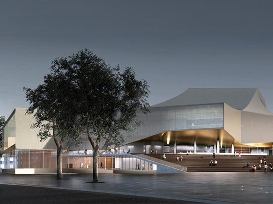 meissl delugan scelto per rinnovare lo staatstheater dei badisches di Karlsruhe