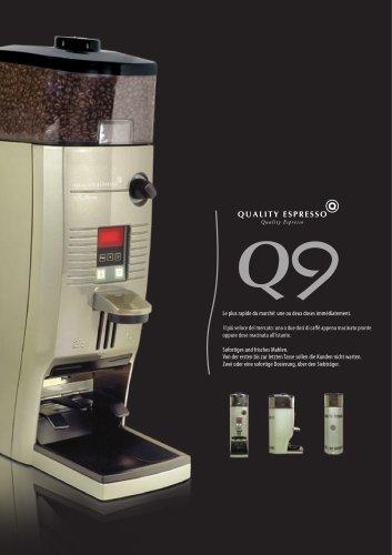Macinacaffè - Dosatura all'istante - Q9 Series