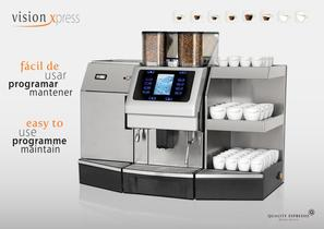 Vision Xpress Fully Automatic Espresso Machines