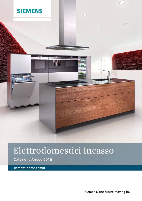Collezione Arredo 2016 - Siemens Home Appliances - Catalogo PDF ...