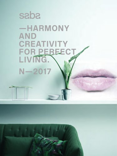 HARMONY AND CREATIVITY FOR PERFECT LIVING. N-2017