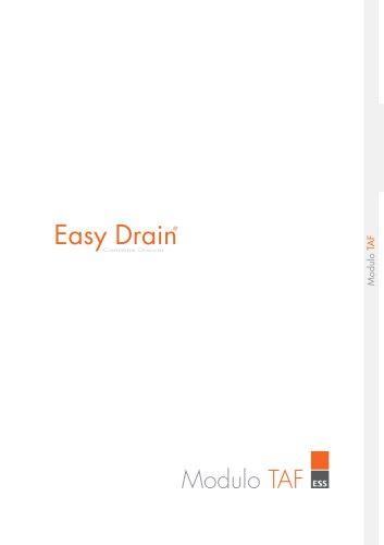 Easy Drain Modulo TAF
