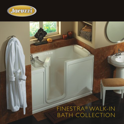 FINESTRA® WALK-IN BATH COLLECTION