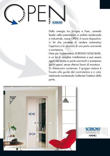 Porte Scorrevoli Scrigno Catalogo.Open By Scrigno Scrigno Catalogo Pdf Documentazione Brochure