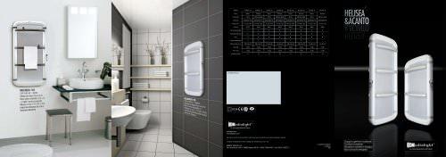 Catalogo 2010 Scalda salviette ACANTO HELISEA Radialight