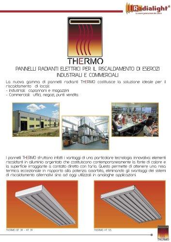 Thermo: riscaldamento a soffitto per installazioni commerciali ed industriali