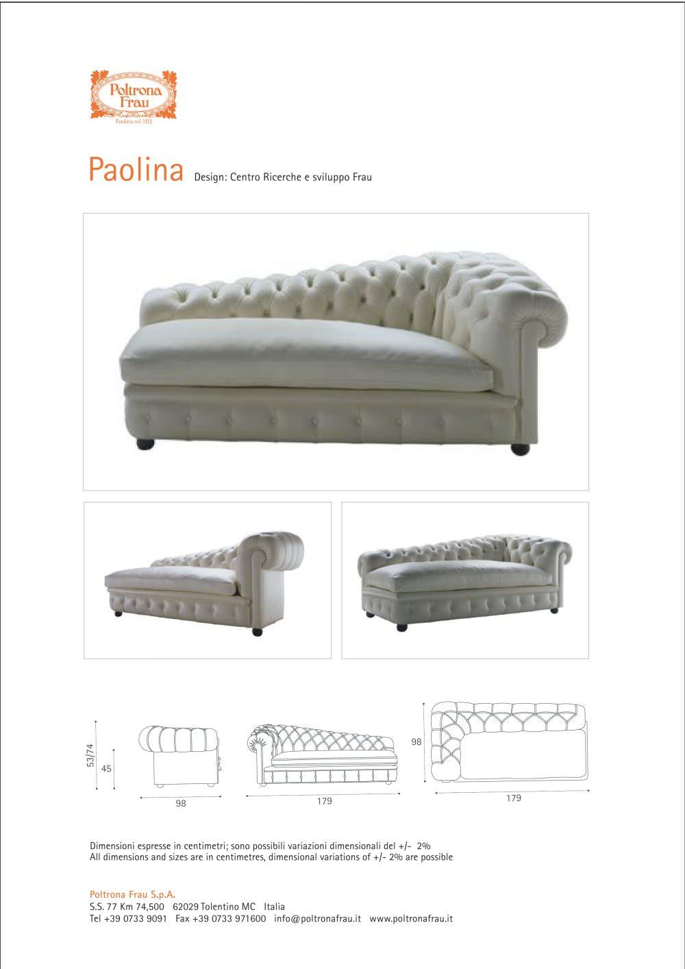 Pa olina - POLTRONA FRAU - Catalogo PDF | Documentazione | Brochure