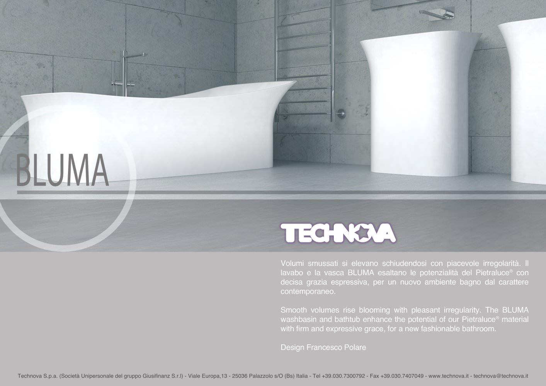 Vasca Da Bagno Volume : Bluma vasca da bagno e lavabo freestanding e da appoggio in