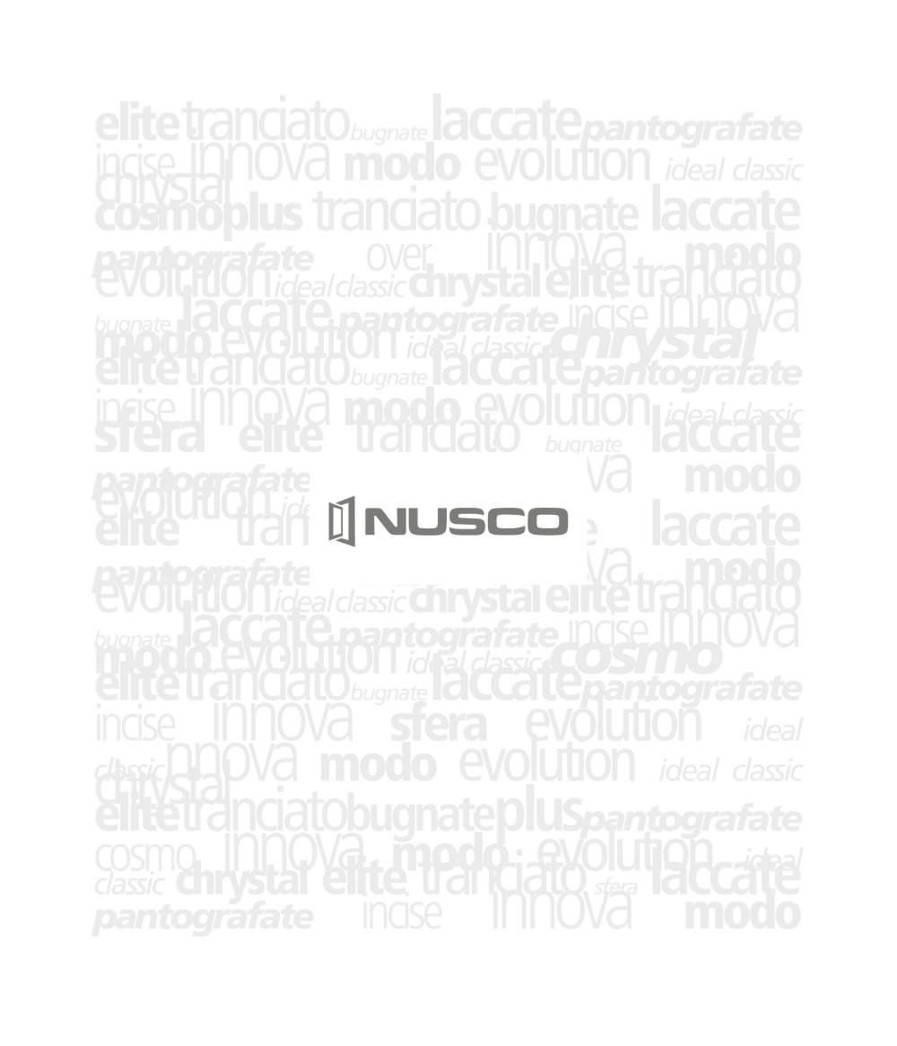 NUSCO catalogo italiano - Nusco - Catalogo PDF | Documentazione ...