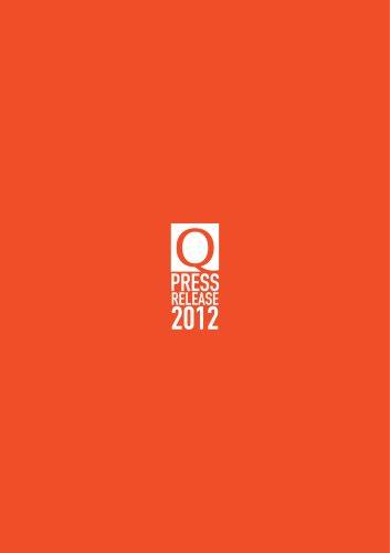 Press Release Italiano 2012