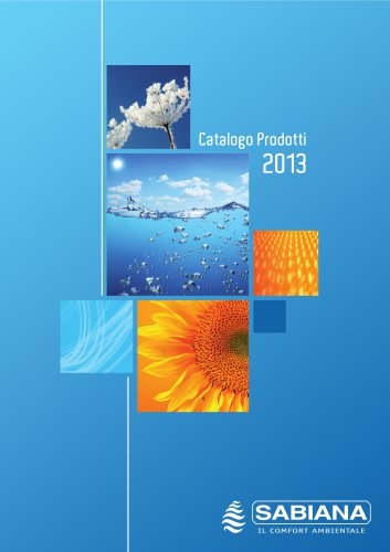 Catalogo Prodotti 2013