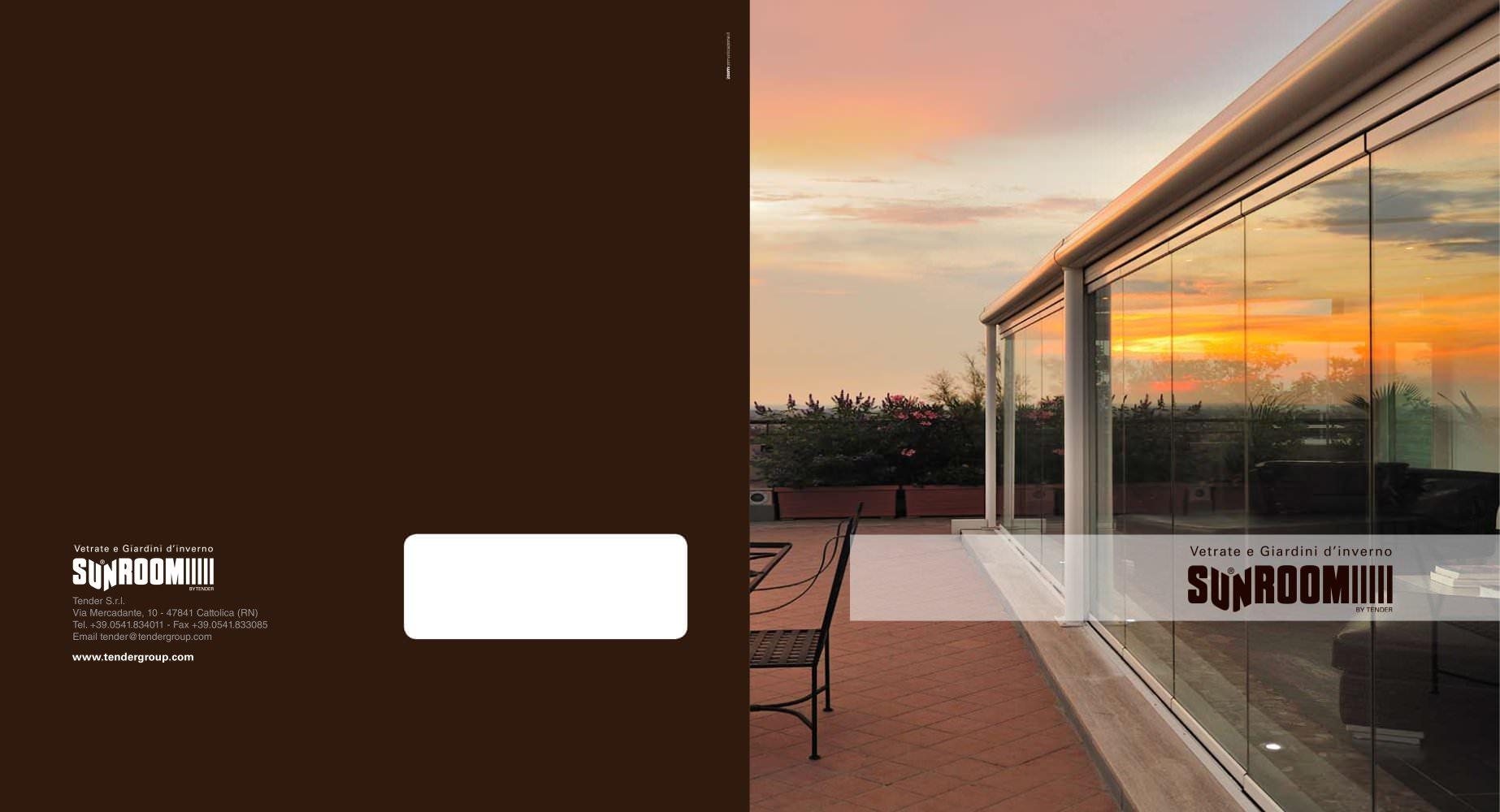 Vetrate e Giardini d'inverno - SUNROOM Tender Group - Catalogo PDF ...