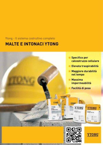 MALTE E INTONACI YTONG