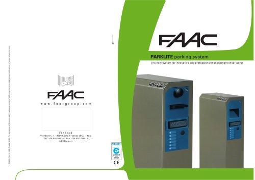 CAR PARKING SYSTEMS  Parklite PL controller