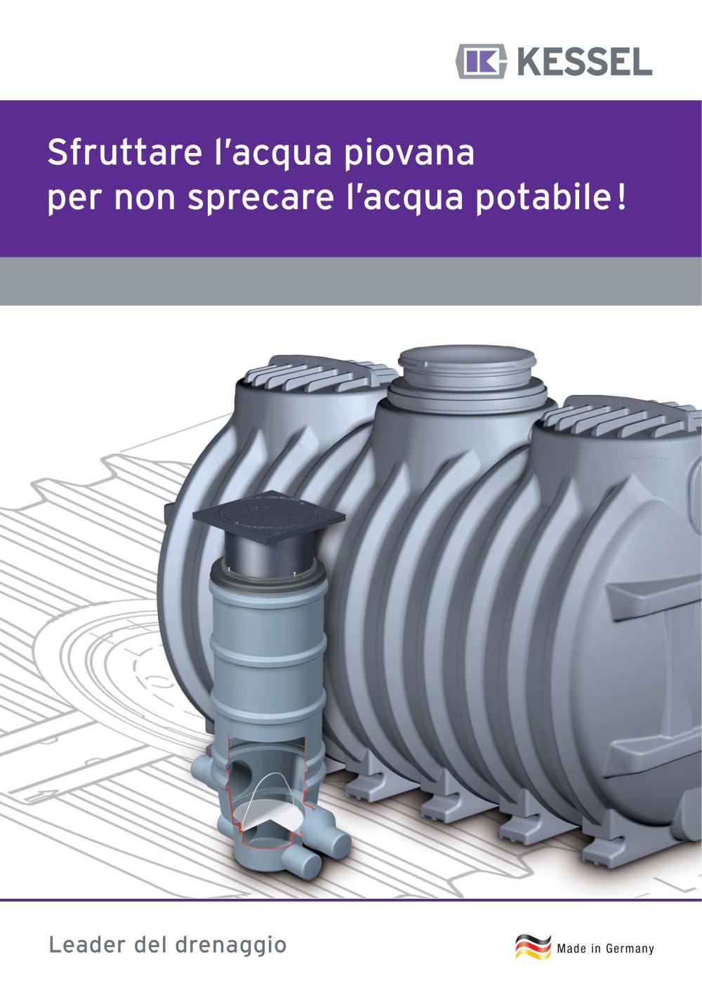 Sistemi di recupero delle acque piovane - KESSEL - Catalogo PDF ...