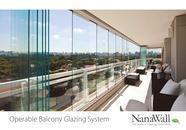 Operable Balcony Glazing System