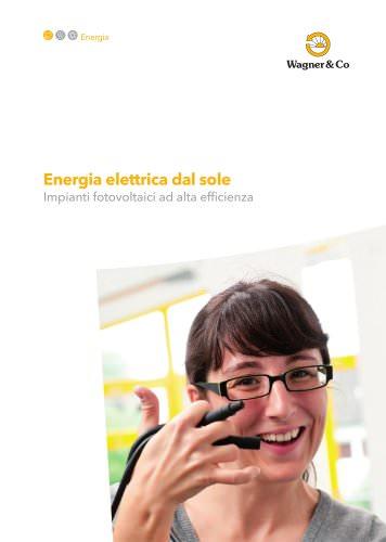 Il Fotovoltaico Wagner & Co