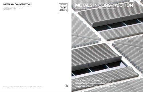 METALS IN CONSTRUCTION
