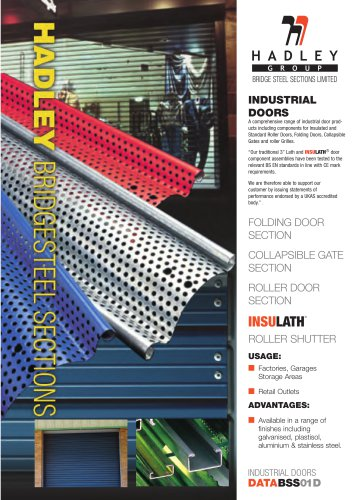 BRIDGE STEEL SECTIONS LIMITED
